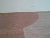 Полукруглый стык плитки и ламината